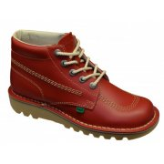 Kickers Kick Hi M Core Red (N60 / Z107) KF0000101-RCO Mens Boots
