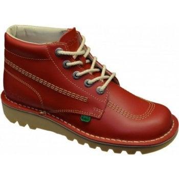 Kickers Kick Hi M Core Red (Z107) KF0000101-RCO Mens Boots