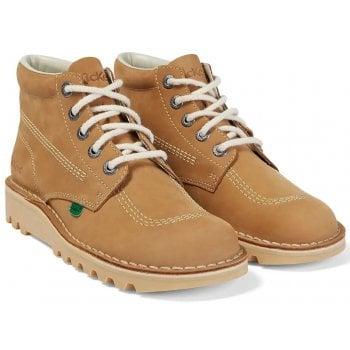 Kickers Kick Hi M Core Tan / Natural (K7) KF0000101-TDG Mens Boots
