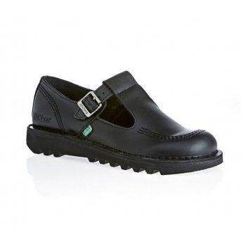 Kickers Kick Lo Aztec Ladies Black Shoes (C4) KF0000130-BTW