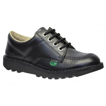 Kickers Kick Lo J Core Juniors Black (N106) KF0000439-BTW Kids School Shoes