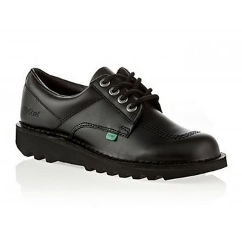 Kickers Kick Lo M Core Leather Black (Opp-c / Z18) KF0000106-BTW Mens Shoes
