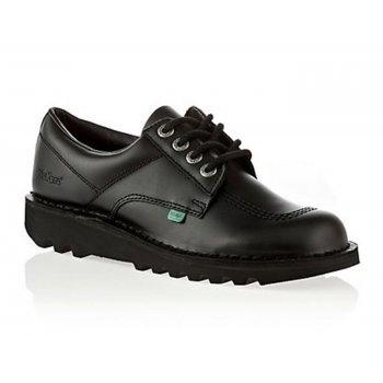 Kickers Kick Lo M Core Leather Black (Z18) KF0000106-BTW Mens Shoes