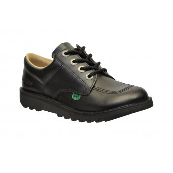 Kickers Kickers Kick Lo Y Core Leather Black (Z-C) KF0001003-BTW Youths Shoes