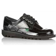 Kickers Kick Lo Y Core Patent Leather Black (Z106) 1-13499 Youths Boots