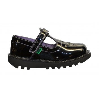 Kickers Kickers Kick T Star Infants Patent Black (F3) 1-12860 Shoes