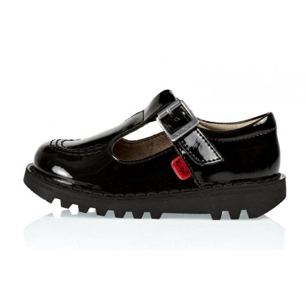 Black Patent Kicker Shoes