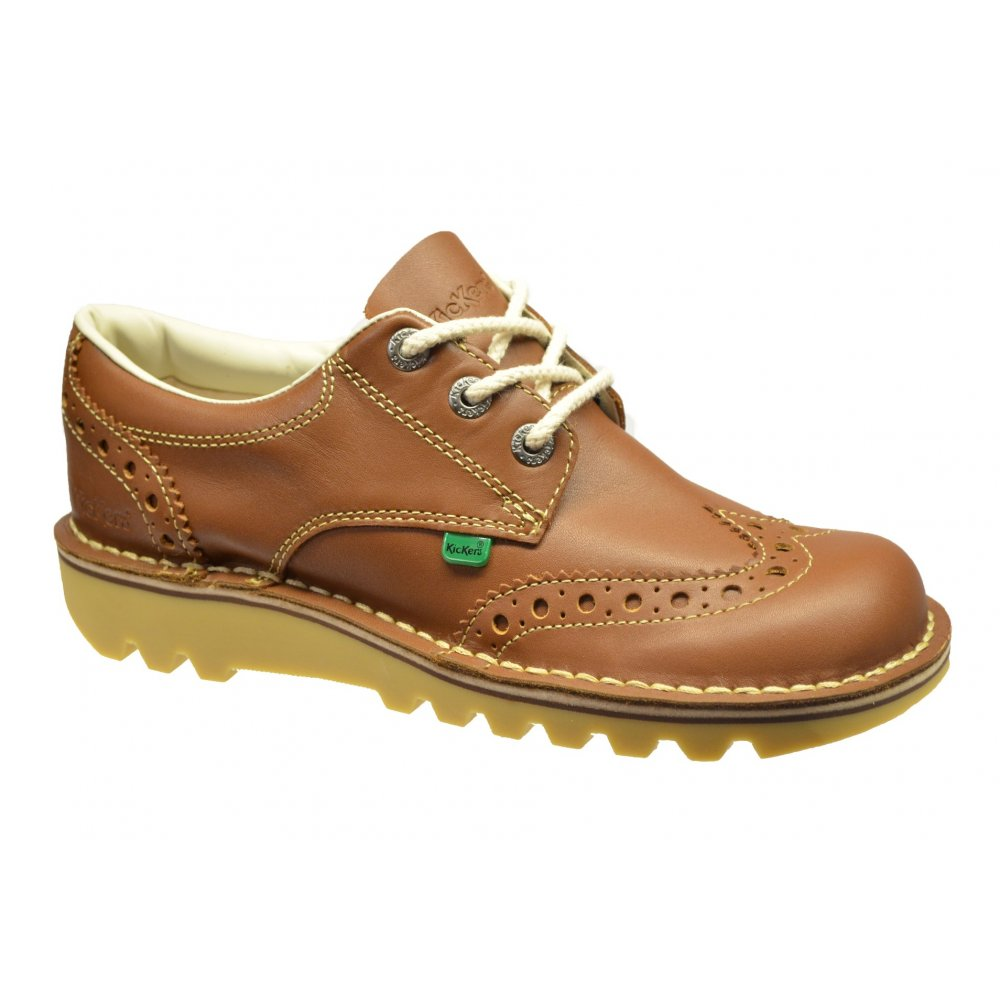 Nike Tan Leather Shoes