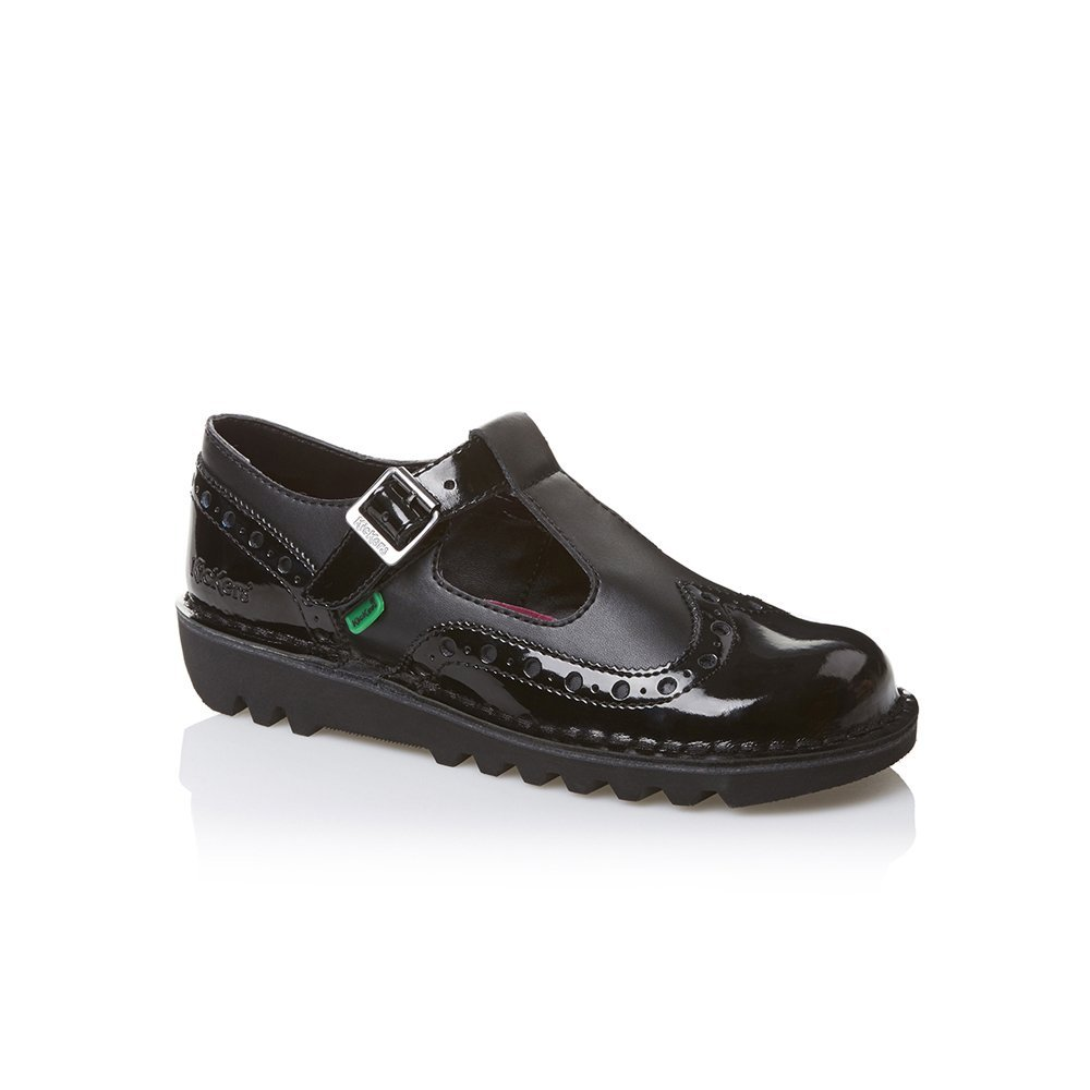 Kickers Kickers Kick T Brogue Patent Leather Black (Z19) 1 ...