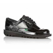 Kickers KL BTS Core Patent Leather Black (N92) 1-10688 Ladies Shoes