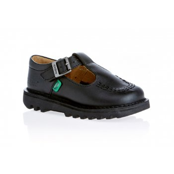 Kickers T I Core Infants Black (Z101) KF0000765-BTW Shoes