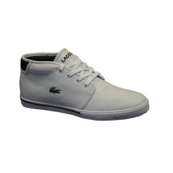 Lacoste Ampthill OXR SPM White / Dark Green (N78) Mens Trainers