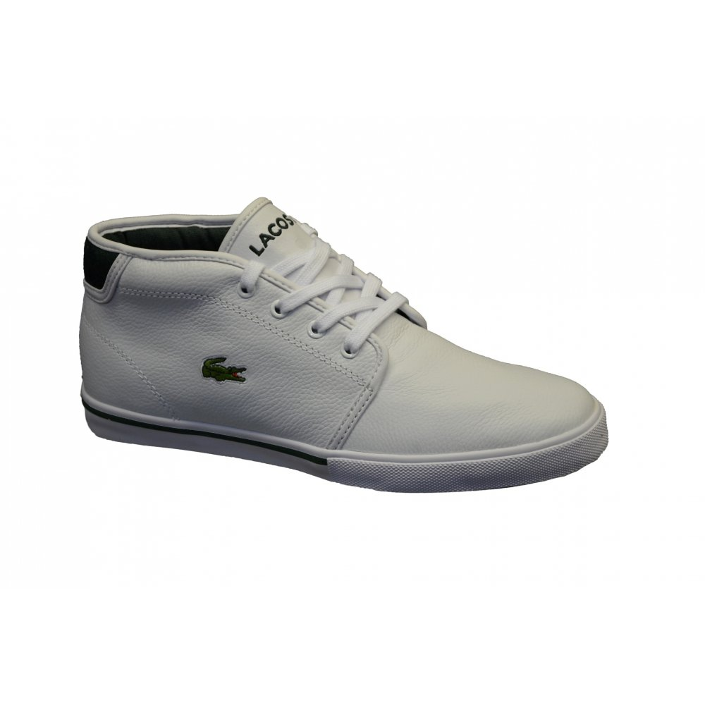 dc61a25f9 Lacoste Lacoste Ampthill OXR SPM White   Dark Green (N78) Mens ...
