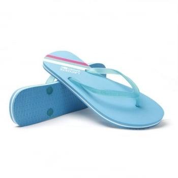 Lacoste Ancelle JAW SPW Blue / White (UX1) Ladies Flip Flop