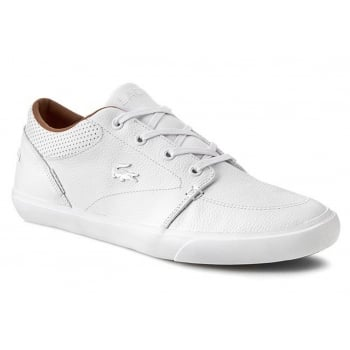 Lacoste Bayliss VULC PRM US SPM White / White (N2) 7-30SPM0035-21G Mens Trainers