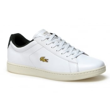 Lacoste Carnaby EVO 317 2 Spm White / Green (A3) 7-34SPM0002082 Mens Trainers