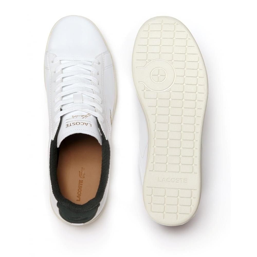 9db02454b ... Lacoste Carnaby EVO 317 2 Spm White   Green (A3) 7-34SPM0002082 Mens. ‹