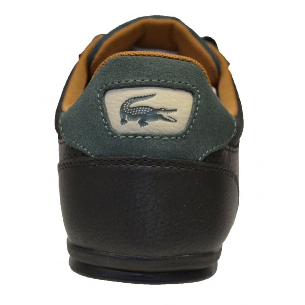 36579bdefdb7 ... Lacoste Chaymon 317 1 CAM Leather Black   Tan (F7) 7-34CAM0006- ...