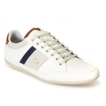 Lacoste Chaymon 318 2 CAM OFF White / Brown (F8) Mens Trainers