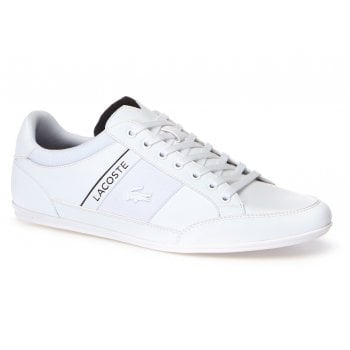 Lacoste Chaymon 318 4 US CAM Leather White / Black (N52) Mens Trainers