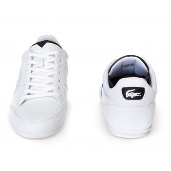 1b069ba142e0e Lacoste Lacoste Chaymon 318 4 US CAM Leather White   Black (N52) Mens  Trainers - Lacoste from Pure Brands UK UK