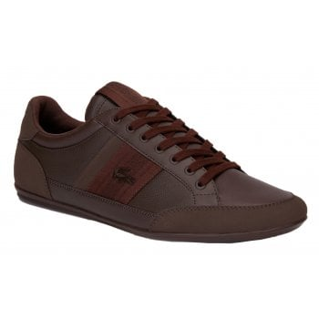 Lacoste Chaymon 419 1 CAM Dk Brown / Brown (Z-B) Mens Trainers