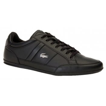Lacoste Chaymon BL 1 CMA Synthetic / Leather Black (N19) 7-37CMA009402H Mens Trainers