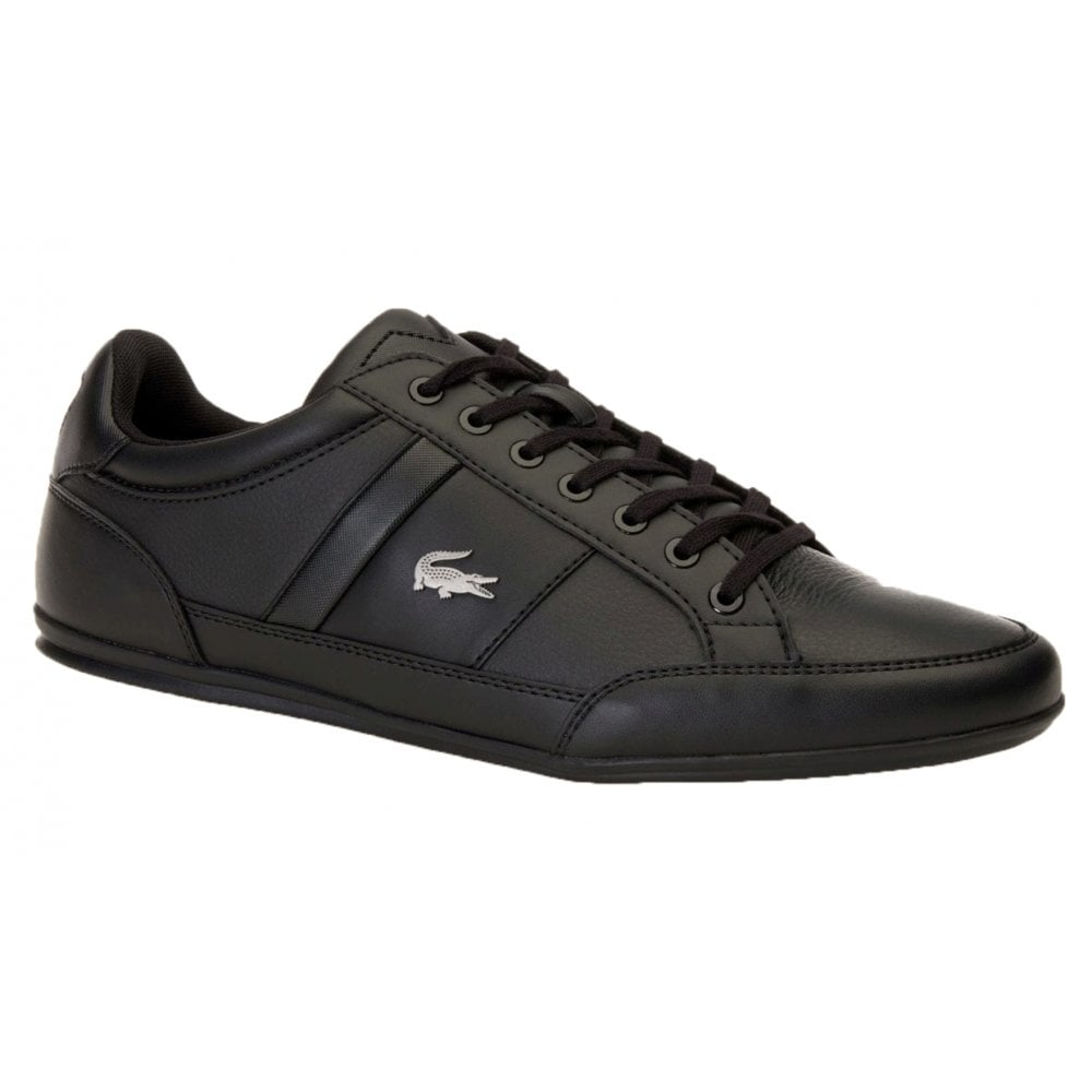 f917c34722d7 Lacoste Chaymon BL 1 CMA Synthetic   Leather Black (N19) 7-37CMA009402H Mens  Trainers
