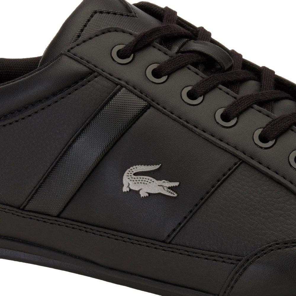 aa4ad284e87d ... Lacoste Chaymon BL 1 CMA Synthetic   Leather Black (N19) 7-37CMA009402H  Mens. ‹