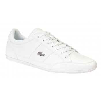 Lacoste Chaymon BL 1 CMA Synthetic / Leather White (N38) 7-37CMA009421G Mens Trainers