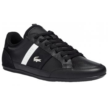 Lacoste Chaymon Leather / Synthetic Black (N108) 7-41CMA004802H Mens Trainers