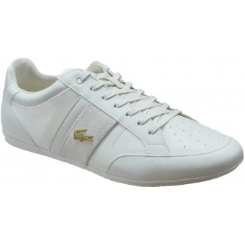Lacoste Chaymon Tech Off White / Gold (U2) Mens Trainers