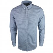 Lacoste Checked Long Sleeve Philippines / White (A22) CH0222-FH1 Mens Shirts