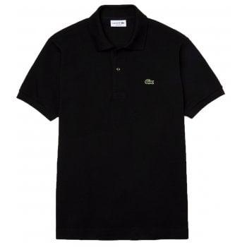 Lacoste Classic Fit L.12.12 Men's Short Sleeve Black Polo Shirts (BX2)
