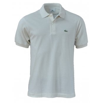 Lacoste Classic Fit L.12.12 Men's Short Sleeve Cream (F8N) Polo Shirts (BX3)