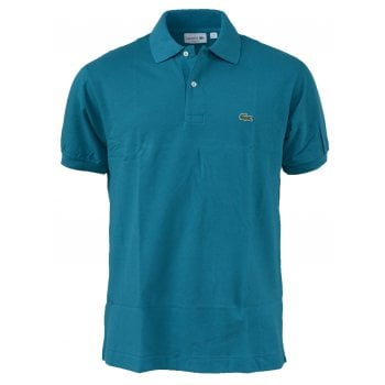 Lacoste Classic Fit L.12.12 Men's Short Sleeve Emerald Green Polo Shirts (BX1)