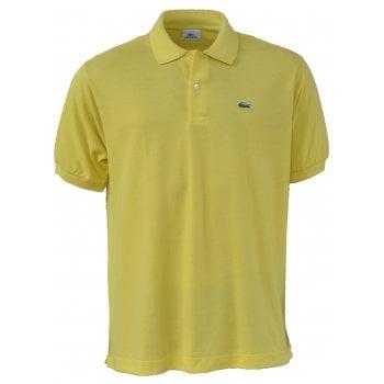 Lacoste Classic Fit L.12.12 Men's Short Sleeve Lemon (BLM) Polo Shirts (BX1)