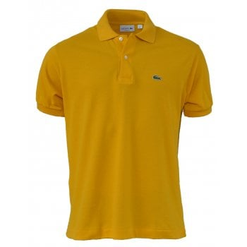 Lacoste Classic Fit L.12.12 Men's Short Sleeve Mustard Polo Shirts (BX2)