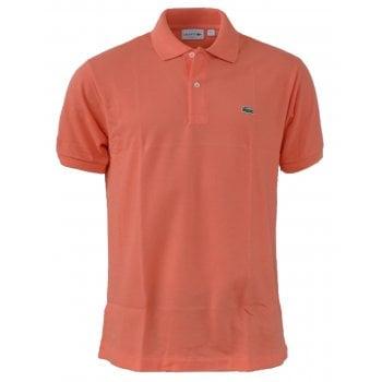 Lacoste Classic Fit L.12.12 Men's Short Sleeve Peach Polo Shirts (BX1)