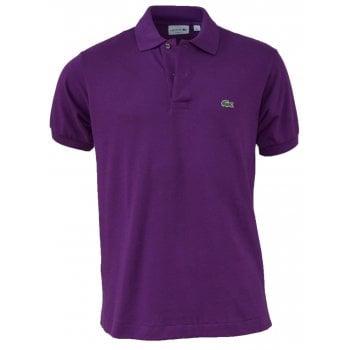 Lacoste Classic Fit L.12.12 Men's Short Sleeve Purple Polo Shirts (BX2)