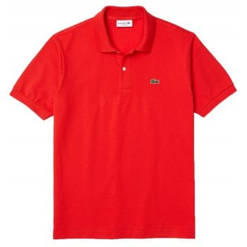 Lacoste Classic Fit L.12.12 Men's Short Sleeve Red (F8M) Polo Shirts (BX2)