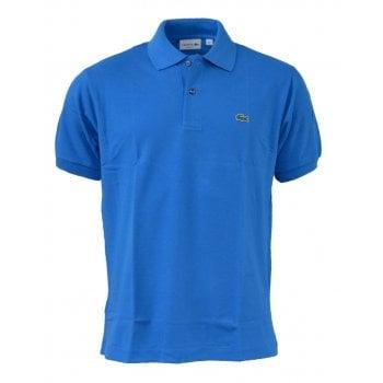 Lacoste Classic Fit L.12.12 Men's Short Sleeve Royal Blue Polo Shirts (BX1)