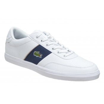 Lacoste Court Master 318 1 CAM White / Navy (N56) Mens Trainers