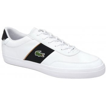 Lacoste Court Master 319 White / Black (N32) Mens Trainers