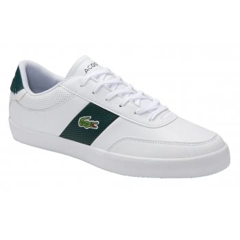 Lacoste Court Master CMA White / Dark Green (Z4) Mens Trainers