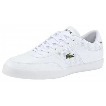 Lacoste Court Master CMA White (GD1) 7-40CMA001421G Mens Trainers