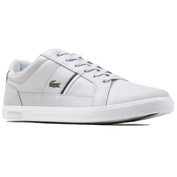 Lacoste Europa SMA Grey / White (N104) Mens Trainers