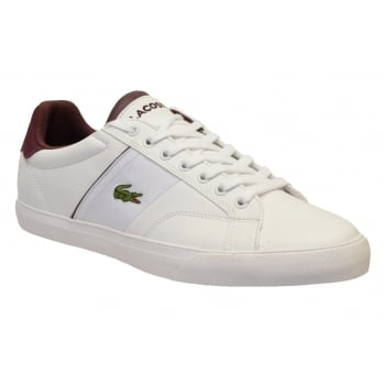 Lacoste Fairlead 317 2 CAM White (N43) 7-34CAM0025-001 Mens Leather Trainers