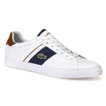 Lacoste Fairlead 318 1 CAM White / Tan (B2) 7-36CAM0035-291 Mens Trainers