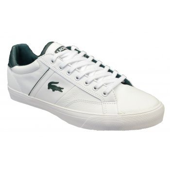 Lacoste Fairlead REI SPM White / White (G3) Mens Leather Trainers